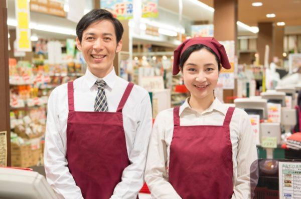 スーパーマーケットのレジ打ち・品出し・簡単な調理