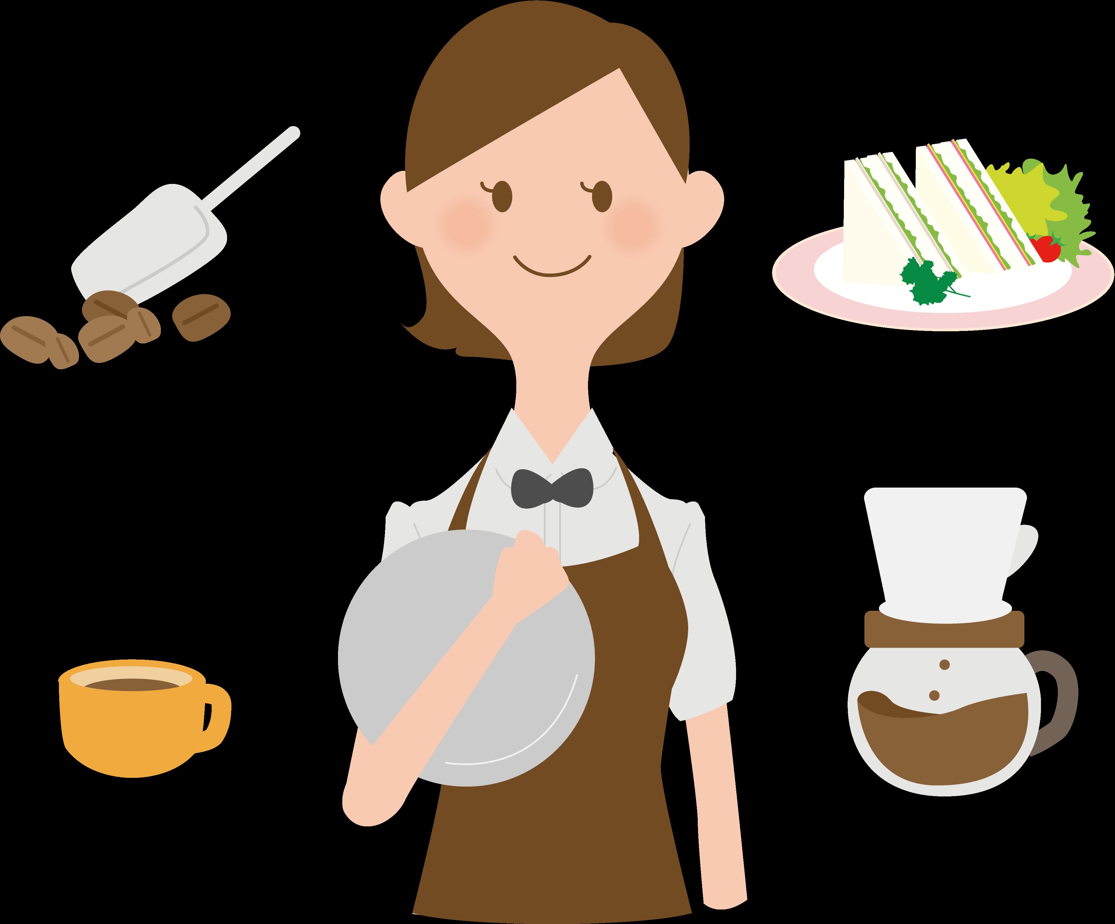 コメダ珈琲のバイト仕事内容と大まかな流れを紹介