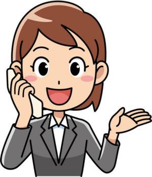 STEP5:勤務先が決定したら担当スタッフから注意事項や勤務までの流れを聞く