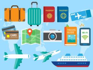 夏休みにリゾートバイトへ行くときの必需品ってある?